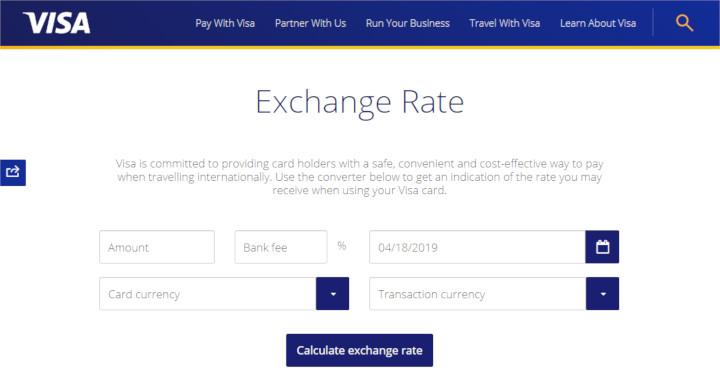 【画像付き】VISAレートの調べ方【Exchange rate calculatorの使い方徹底ガイド】