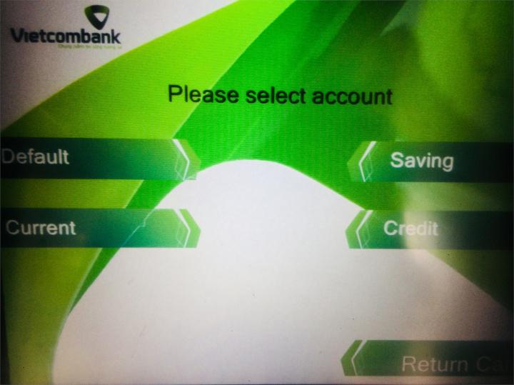 クレジットを選択
