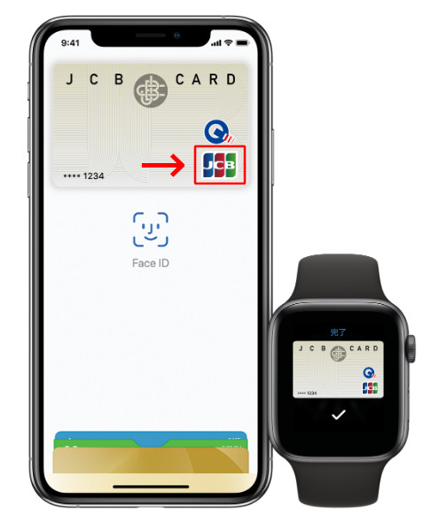 Apple Payのコンタクトレス決済対応のマーク