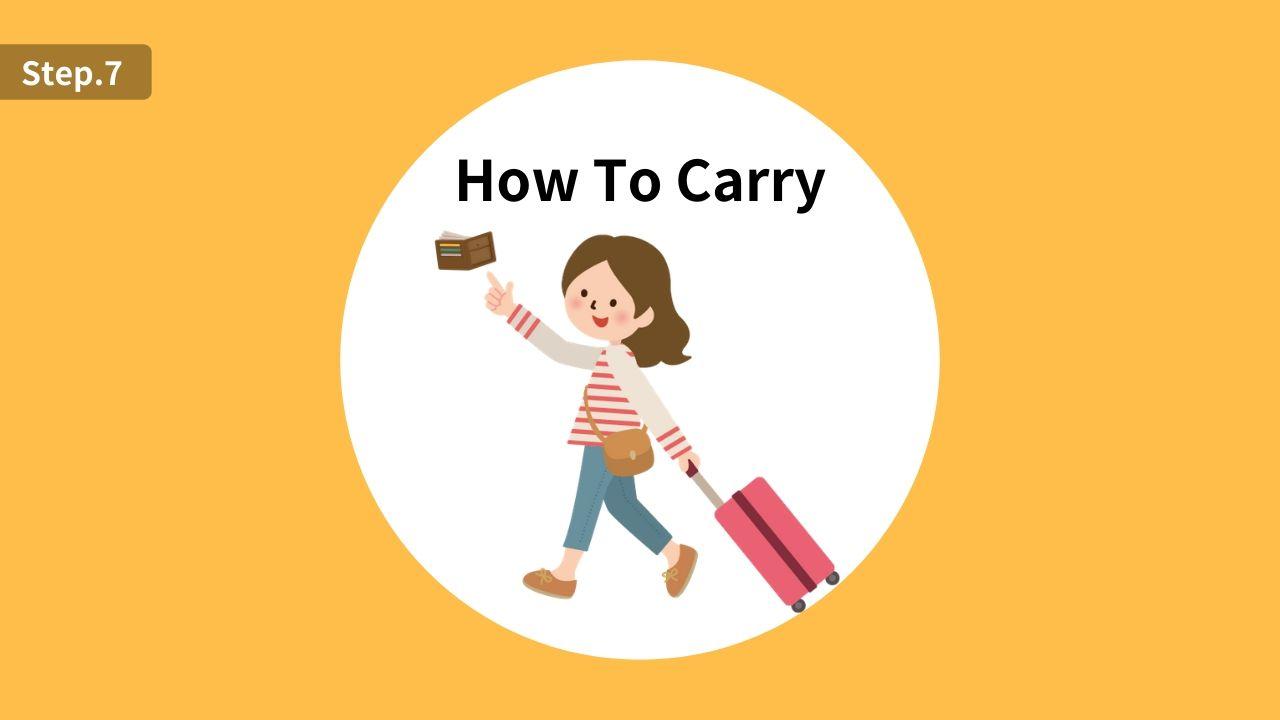 海外旅行でのクレジットカードの安全な持ち歩き方