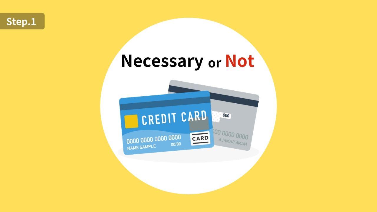 海外旅行でのクレジットカードの必要性