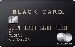 ラグジュアリーカード ブラック